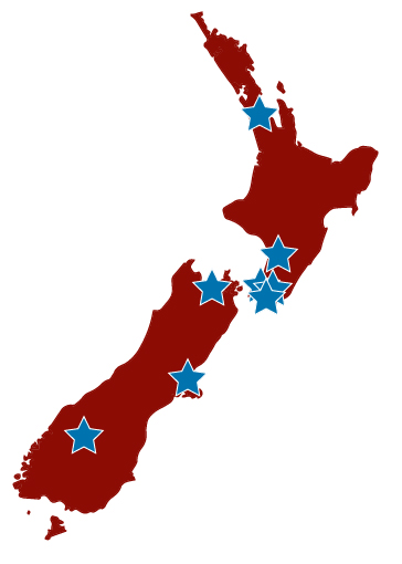 NZ Location map